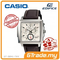 CASIO EDIFICE EF-324L-7AV Multi-Hand Watch | Four Dials WR 100m