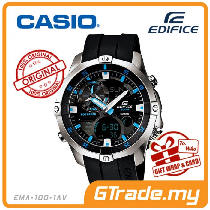 casio edifice ema 100 1av scuba diving watch magnetic resit 200m rh gtrade2u com casio tough solar sport analog/digital watch manual casio analog digital watch instructions