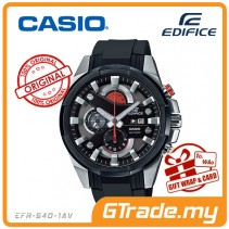CASIO EDIFICE EFR-540-1AV Chronograph Watch | Vibration Resist [PRE]