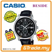 CASIO BESIDE BEM-511L-1AV Chronograph Watch | Sporty Date Disp. [PRE]