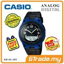 CASIO STANDARD AW-80-2BV Analog Digital Watch | Wolrd Time 10Yrs Batt [PRE]