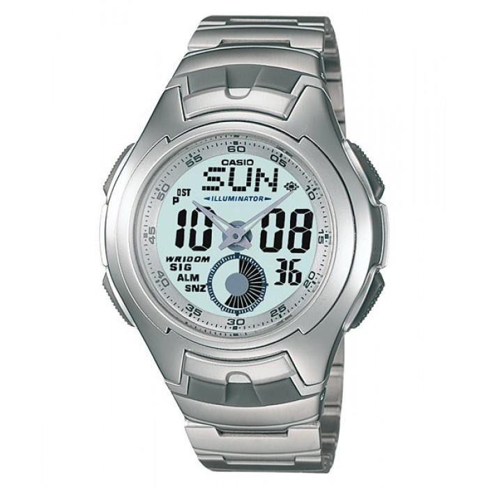 cbcda14e852 CASIO STANDARD AQ-160WD-7BV Analog Digital Watch