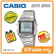 [READY STOCK] CASIO DATA BANK DB-360-1A Digital Watch | 30 Telememo 10 Yrs Batt
