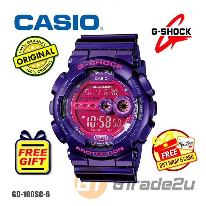 CASIO G-SHOCK GD-100SC-6 STANDARD Digital Watch  0df3b4ef51