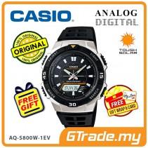 CASIO STANDARD AQ-S800W-1EV Analog Digital Watch | Sporty Tough Solar [PRE]