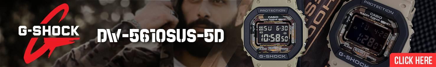 Casio G-Shock Petak Army DW-5610SUS-5A