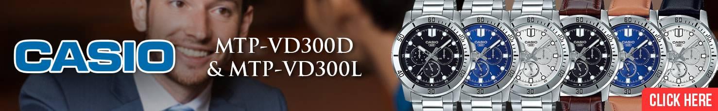 Casio Standard Men Analog MTP-VD300D VD300L