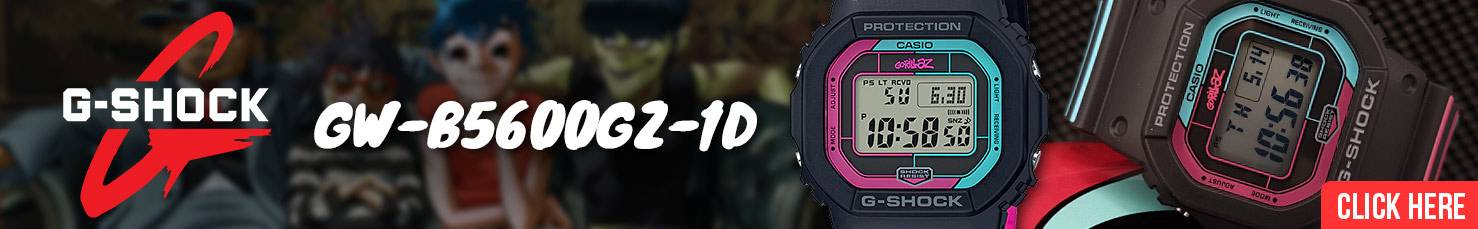 Casio G-Shock Gorillaz The Now Now GW-B5600GZ-1D
