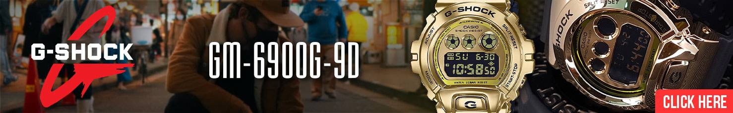 Casio G-Shock Gold Metal Covered Bezel GM-6900G-9D