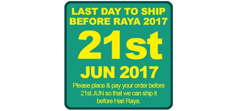 Last Day before Raya