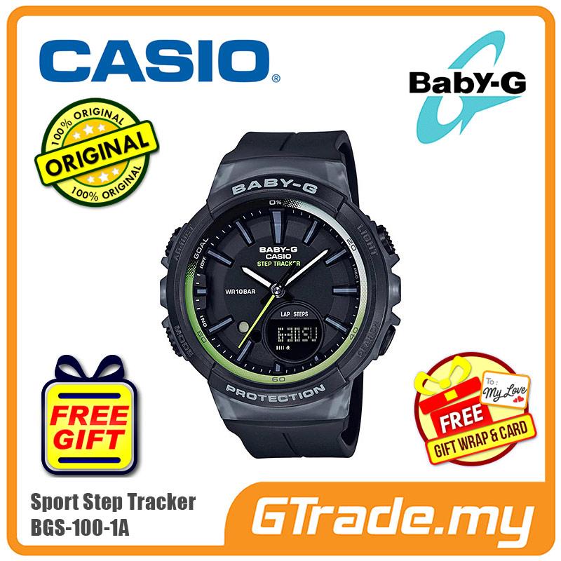84889cb4b98 CASIO Baby-G BGS-100-1A Ladies Women Watch